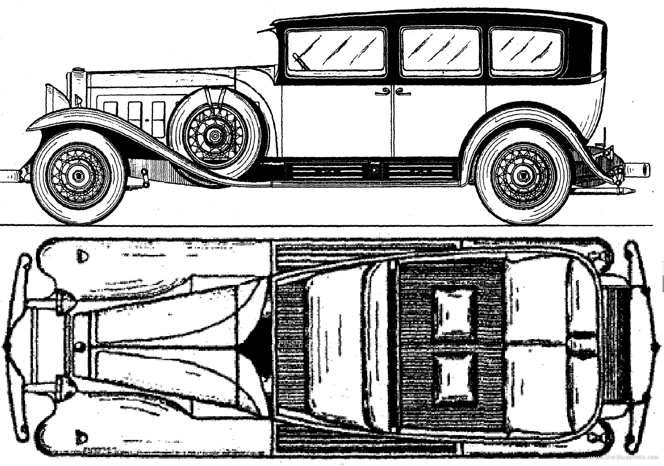 Cadillac V16 Fleetwood Town Limousine  1930